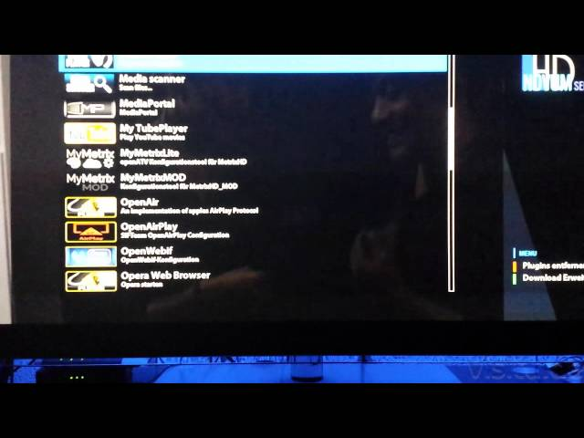 IPTV / Streaming mit den Media Player bei einen Linux Enigma 2 Kabel
