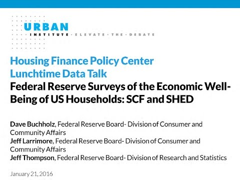 Federal Reserve Surveys of the Economic Well Being of US Households 20160121 172