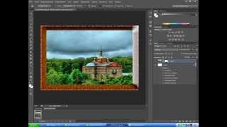 рамки на фотографии способ 2 фотошоп cs6