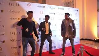 Alex iwobi and rest of super eagles player party