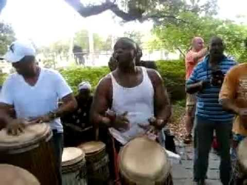 Congo Square Sunday the 26th of June with Titos Sompa from The Congo and Drummers (1).mp4