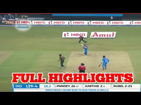 highlights-india-vs-bangladesh-2nd-t20-full-match-highlights...!