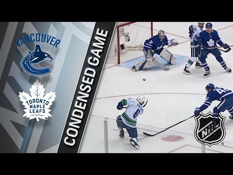Vancouver Canucks vs Toronto Maple Leafs – Jan. 06, 2018 | Game Highlights | NHL 2017/18.Обзор матча