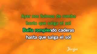 Karaoke Hasta que salga el sol - Don Omar *