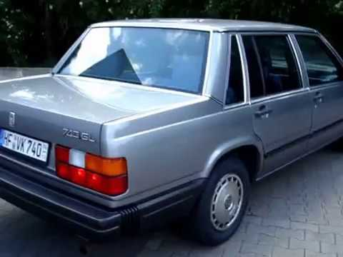volvo 740 gl 1987 youtube. Black Bedroom Furniture Sets. Home Design Ideas