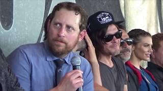 The Walking Dead Press Breakfast from San Diego Comic Con 2016. Lets chat Season 7