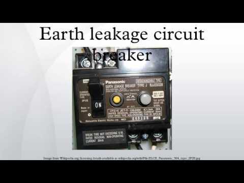Earth leakage circuit breaker youtube earth leakage circuit breaker ccuart Images