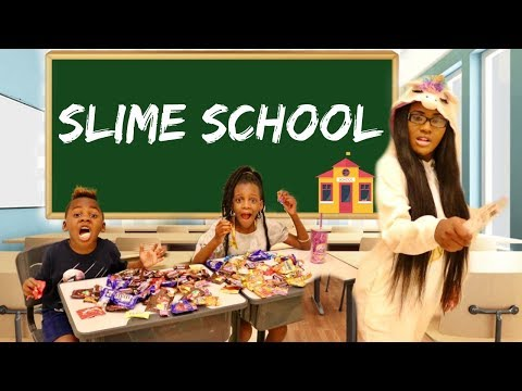 How to Sneak Candy in Slime School