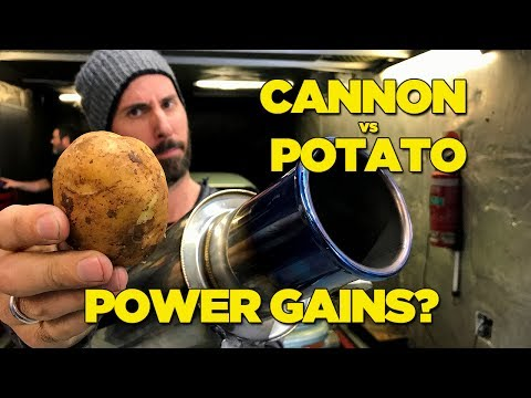 Canon VS Potato - Power Gains?
