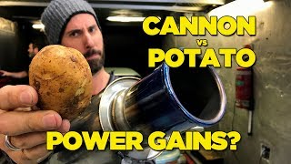 Cannon vs Potato - Power Gains?