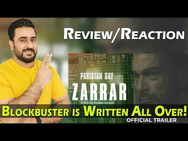 ZARRAR Official Trailer Reaction | Shaan Shahid | Kiran Malik | Nadeem Baig