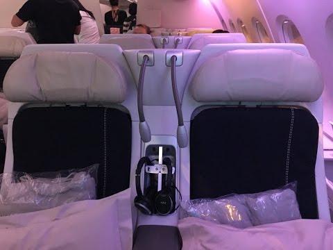 Air France Premium Economy   Boeing 777-200ER   Shanghai to Paris