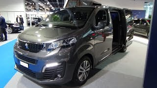 2019 Peugeot Traveller Business VIP Dangel 4x4 - Exterior and Interior - Auto Zürich Car Show 2018
