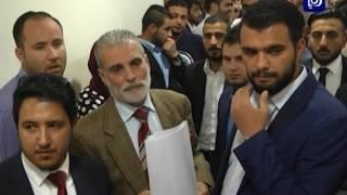 عشرات المحامين يطالبون بإعادة امتحان النقابة - (6-5-2017)