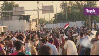 العبادي يدعو إلى الوقوف خلف الجيش والصدر يدين استخدام القوة ضد المحتجين
