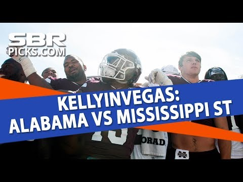 College Football Betting | Alabama vs Mississippi State Free Picks | Week 11 with KIV