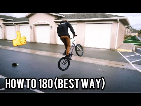 How to 180 Bmx (FASTEST WAY)
