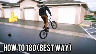 How to 180 Bmx (FASTEST WAY)