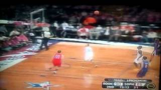 John Wall bounce Alley-oop to Blake Griffin