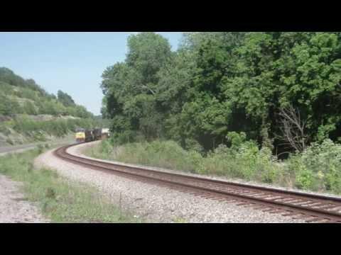 Railfanning CSX's Big Sandy Subdivision....