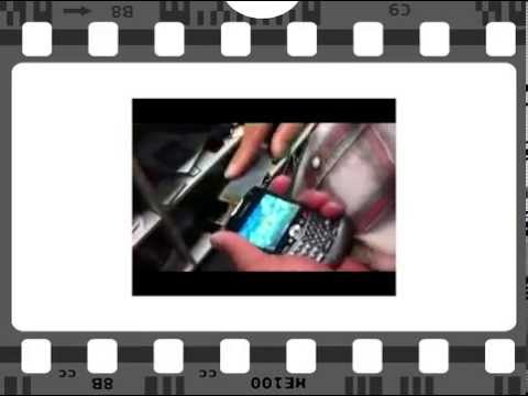 How to Replace Cacked Screen from Blackberry Curve 8300