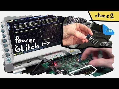 Hardware Power Glitch Attack - rhme2 Fiesta (FI 100)