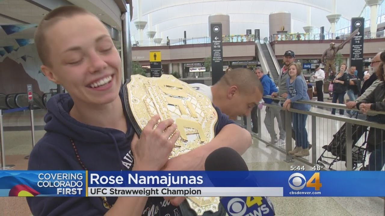 Colorado MMA Fighter Crowned UFC Strawweight Champ