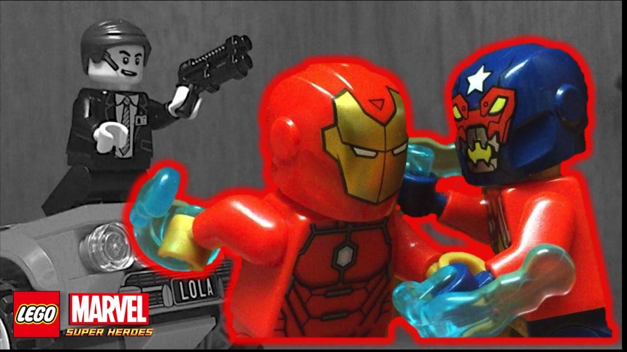 LEGO Super Heroes Shield Agent Statuette Avengers MiniFigure Set 76042