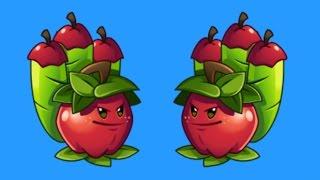 Растения против Зомби 2 - ЯБЛОЧНАЯ МОРТИРА (Apple Mortar) НОВОЕ РАСТЕНИЕ - Plants vs Zombies 2