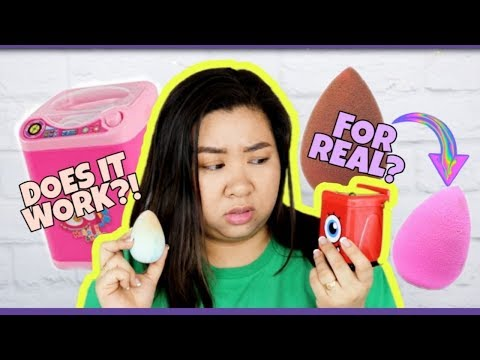 WASHING MACHINE FOR SPONGE CLEANING?! | Stressed or Impressed? | RuthieSweety