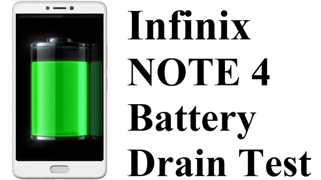 Battery Drain Test : Infinix note battery drain test youtube