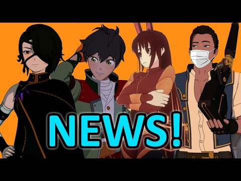 RWBY Fairy Tales Book + Other NEWS! :D