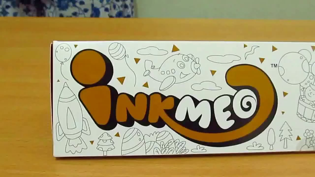 Inkmeo wall colouring roll and augmented reality app youtube