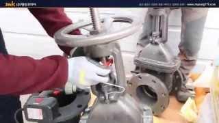 OSY  밸브 댐퍼스위치 설치