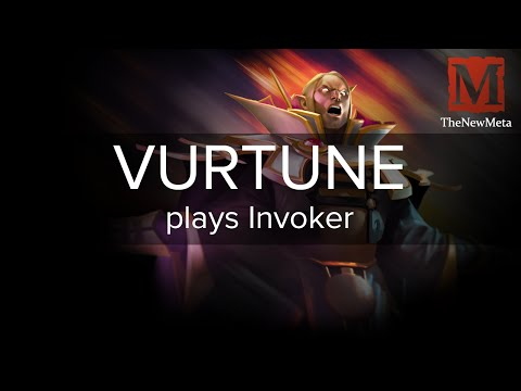 [Perfect] VURTUNE plays Invoker (25-0-18) Full-game