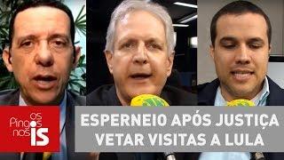 Debate: Petistas esperneiam após Justiça vetar visitas a Lula