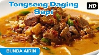 Download Video Tongseng Daging Sapi Resep Bumbu Dapur Indonesia Bunda Airin - Enak Dan Lezat MP3 3GP MP4
