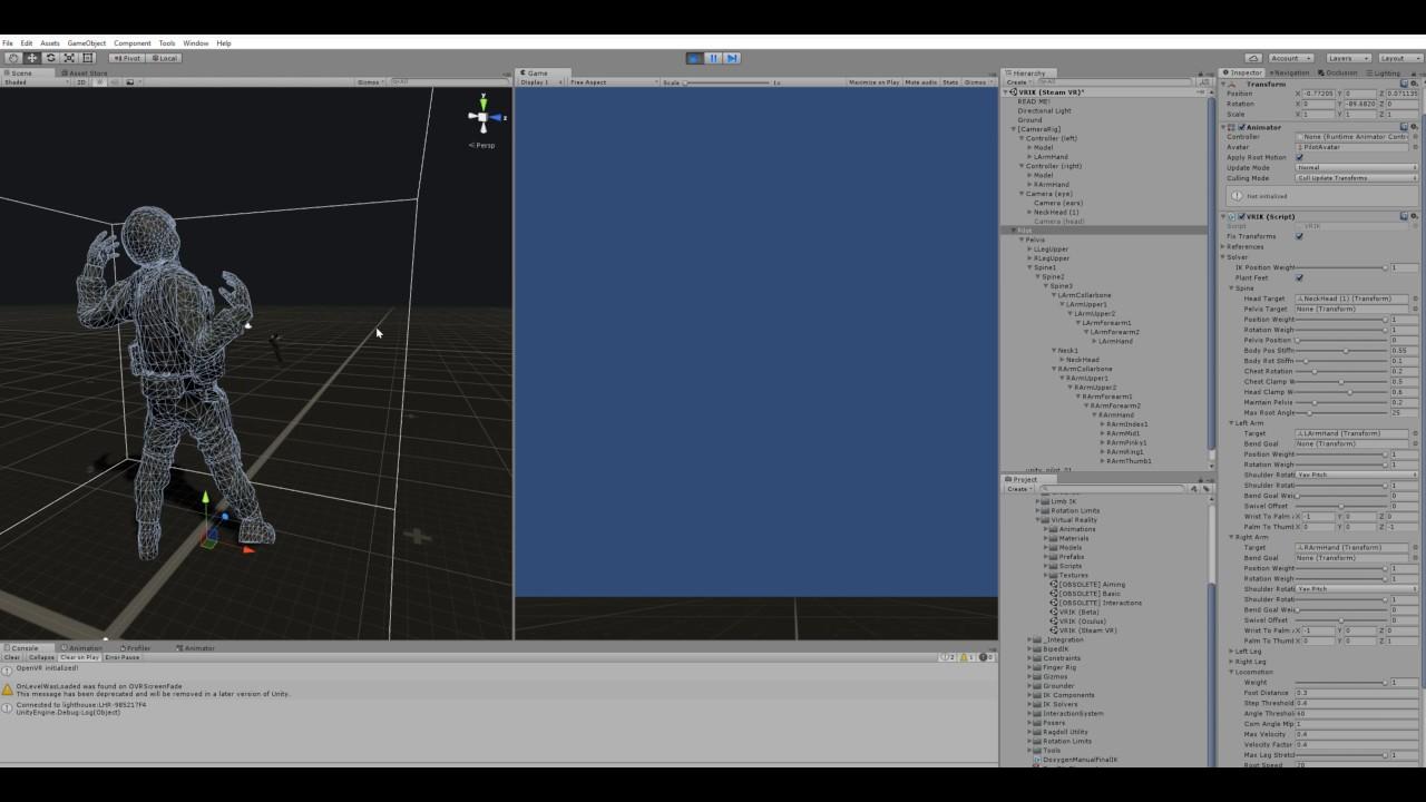 FINAL IK TUTORIAL - Setting Up VRIK for Steam VR