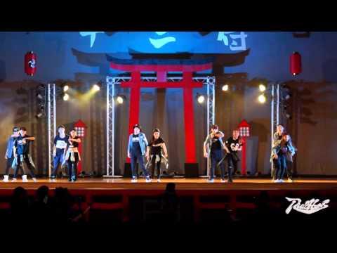 亞洲大學 第12屆舞展十二侍   亞洲HIP HOP Ft  東海小美