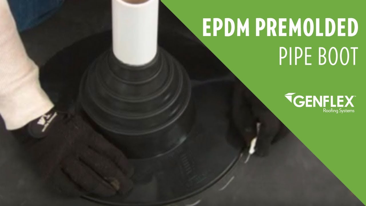 Epdm Premolded Pipe Boot Youtube