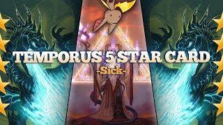 Temporus is a 5 Star Card