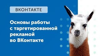 eLama: Основы работы с таргетированной рекламой во ВКонтакте от 21.09.2018