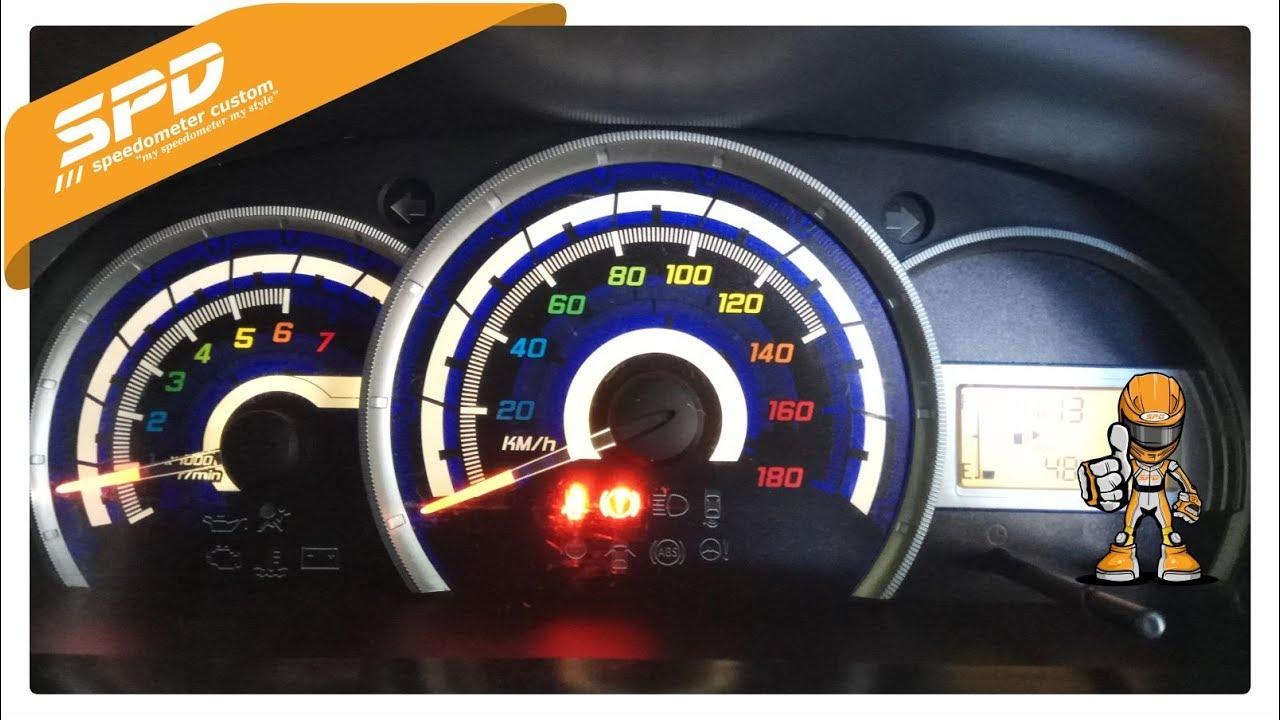 Speedometer Grand New Veloz Spesifikasi Yuk Ganti Avanza Xenia Kalian Speed Youtube