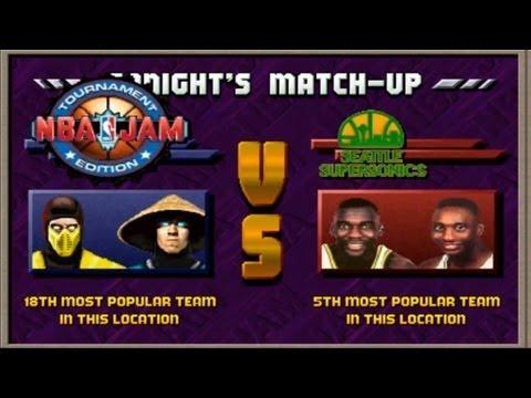 Let's Play Series! Episode 11 - NBA Jam Tournament Edition - Special Guest - Mortal Kombat