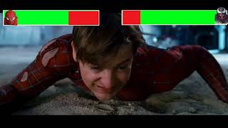 Spiderman 3 Final Battle Part 1 with healthbars (1000 Subscribers Special)