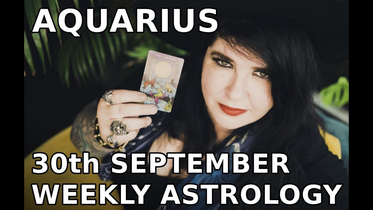 aquarius weekly horoscope 20 october 2019 by michele knight