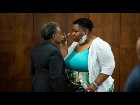 Alderwoman Jeanette Taylor Disrespects Mayor Lori Lightfoot