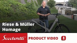 Riese Muller Homage - Electric Bike Review - Scooteretti Canada & USA