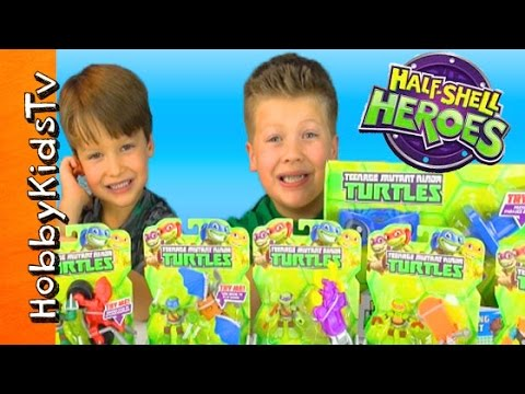 tmnt-half-shell-hero-mega-toy-play!-teenage-mutant-ninja-turtles-by-hobbykidstv