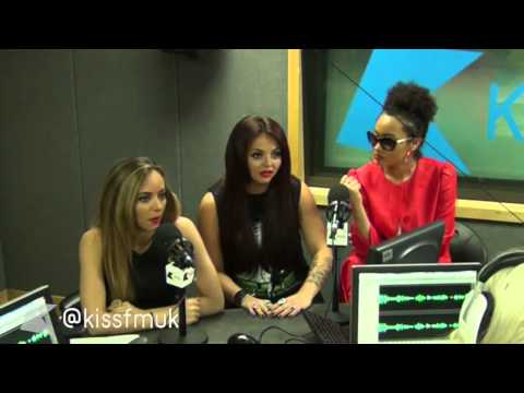 Little Mix talk Salute and X Factor at Kiss FM (UK)